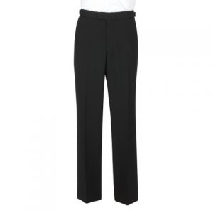 Scott Dinner Suit Trousers - Black
