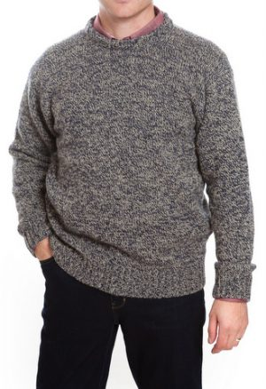 Scott Officer Silk & Wool Ribbed Jumper