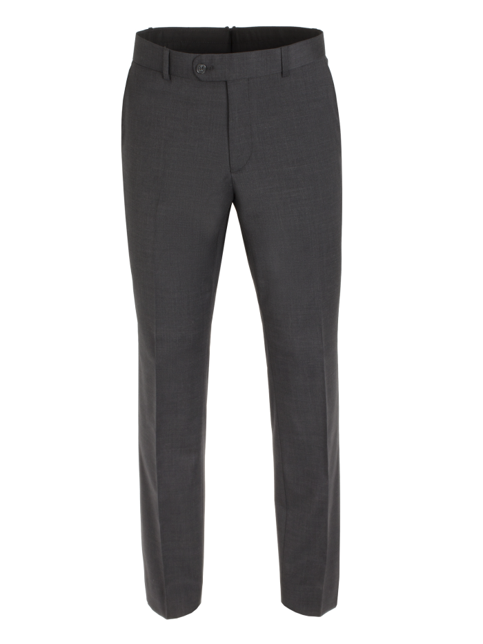 Scott Performance Suit Trousers - Charcoal
