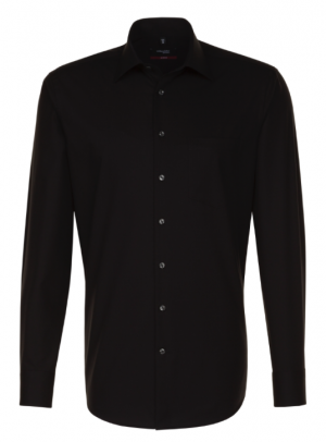 Seidensticker Spendesto Shirt - Black