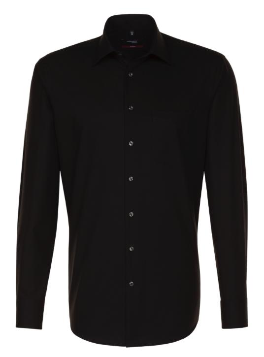 Seidensticker Spendesto Shirt - Black