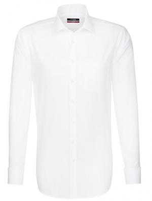 Seidensticker Splendesto Double Cuff  Shirt - White