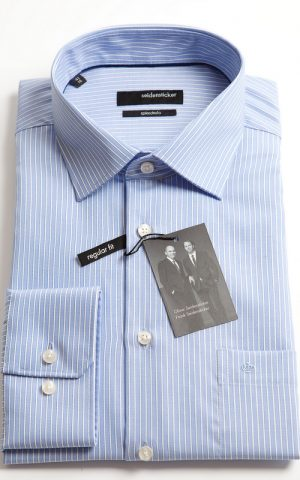 Seidensticker Splendesto White Stripe Shirt