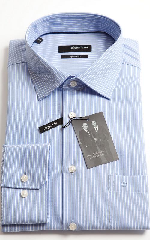 Seidensticker Splendesto White Stripe Shirt