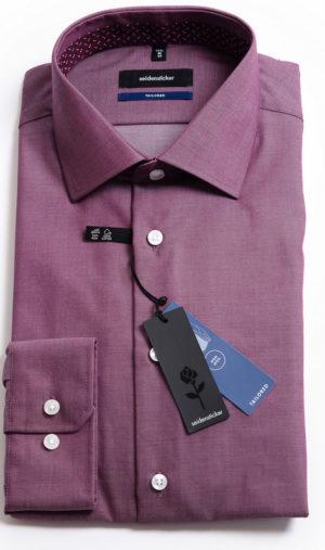 Seidensticker Tailored Fit Shirt - Berry