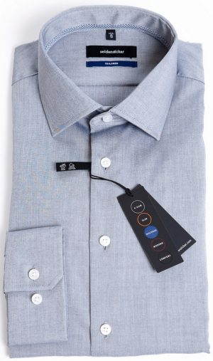 Seidensticker Tailored Fit Shirt - Grey