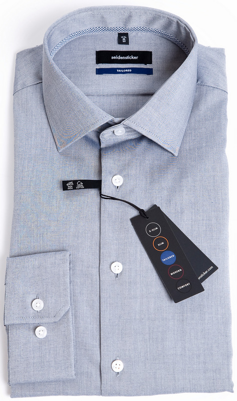 Seidensticker Tailored Fit Shirt - Grey