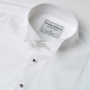 Simpson and Ruxton Marcella Wing Collar Dress Shirt