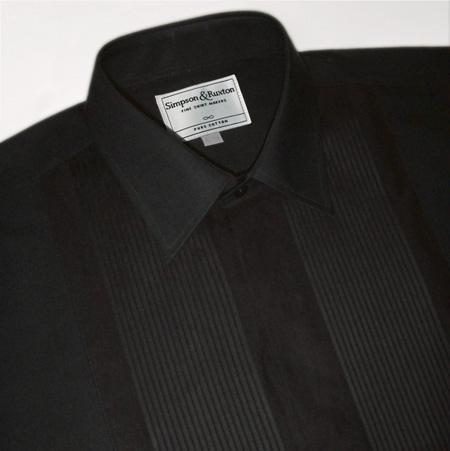 Simpson and Ruxton Sydney Standard Collar  Dress Shirt