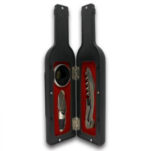 Sophos -  3 Piece Wine Bottle Bar set