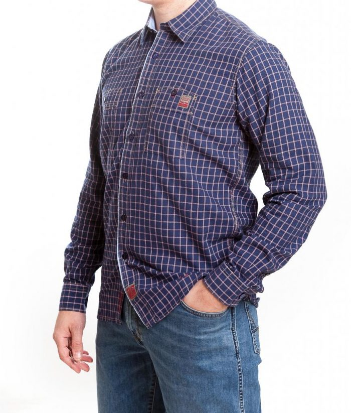 Storm Casual Cotton Twill Shirt - Verona