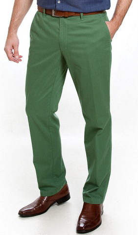 Sunwill Light Weight Cotton Chinos - Green