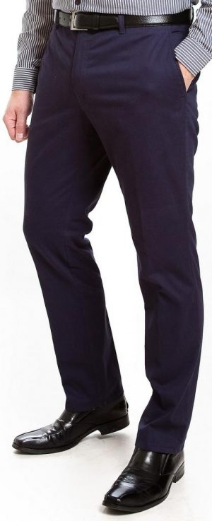 Sunwill Light Weight Cotton Chinos - Navy