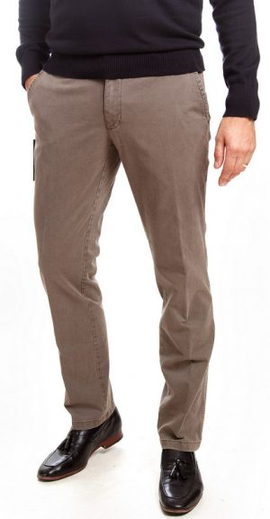 Sunwill Standard Weight Cotton Chinos - Mushroom