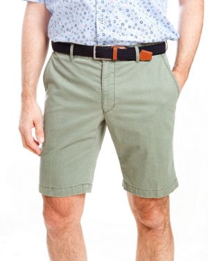 Sunwill Tailored Shorts - Cactus Green