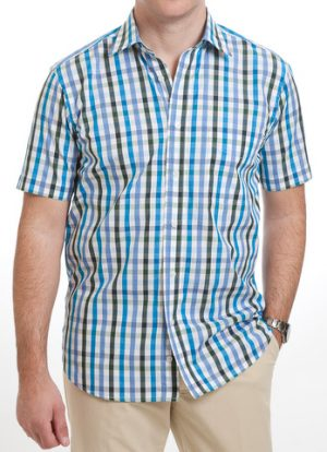 Viyella 100% Cotton Short Sleeved Shirt