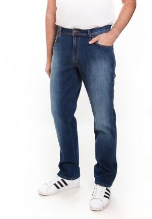 Wrangler Texas Stretch Jeans - Reel Blues